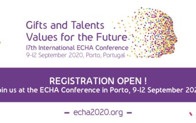 Conferência da ECHA 2020 no Porto!